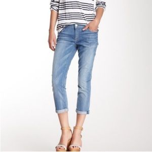 "🍂 7 for All Mankind ""Skinny Crop and Rolled"" Jean"